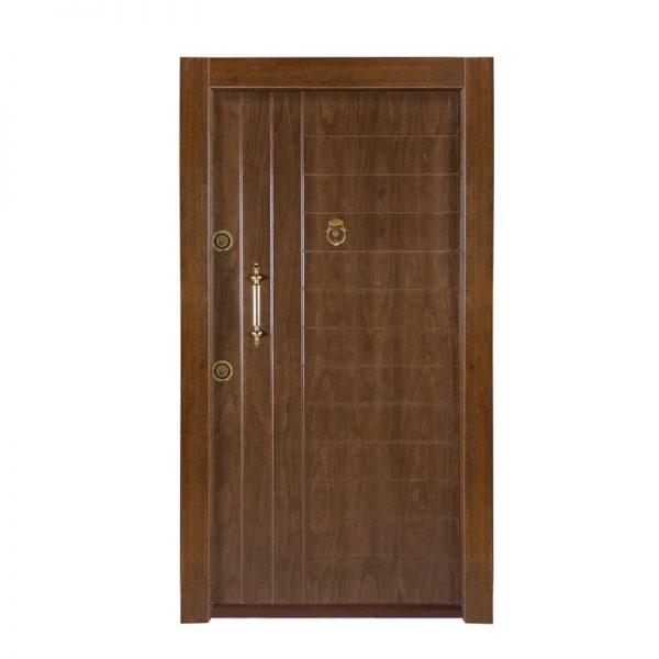 درب ضد سرقت CNC کد 9063 روکش راش